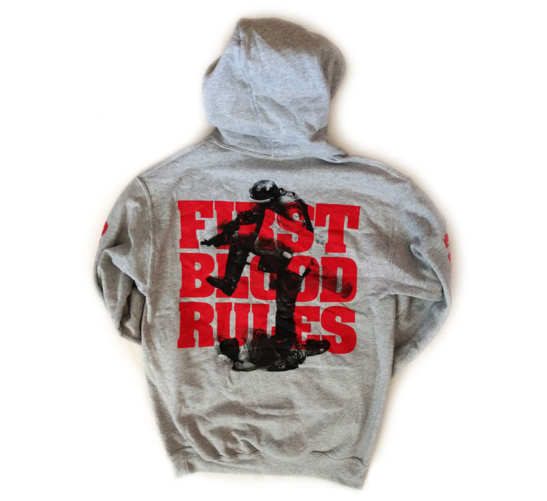 Rules Album Artwork Knives Grey Hoodie / 20€