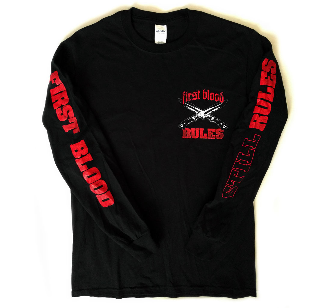 Rules Album Artwork Knives Black Long Sleeve / 15€