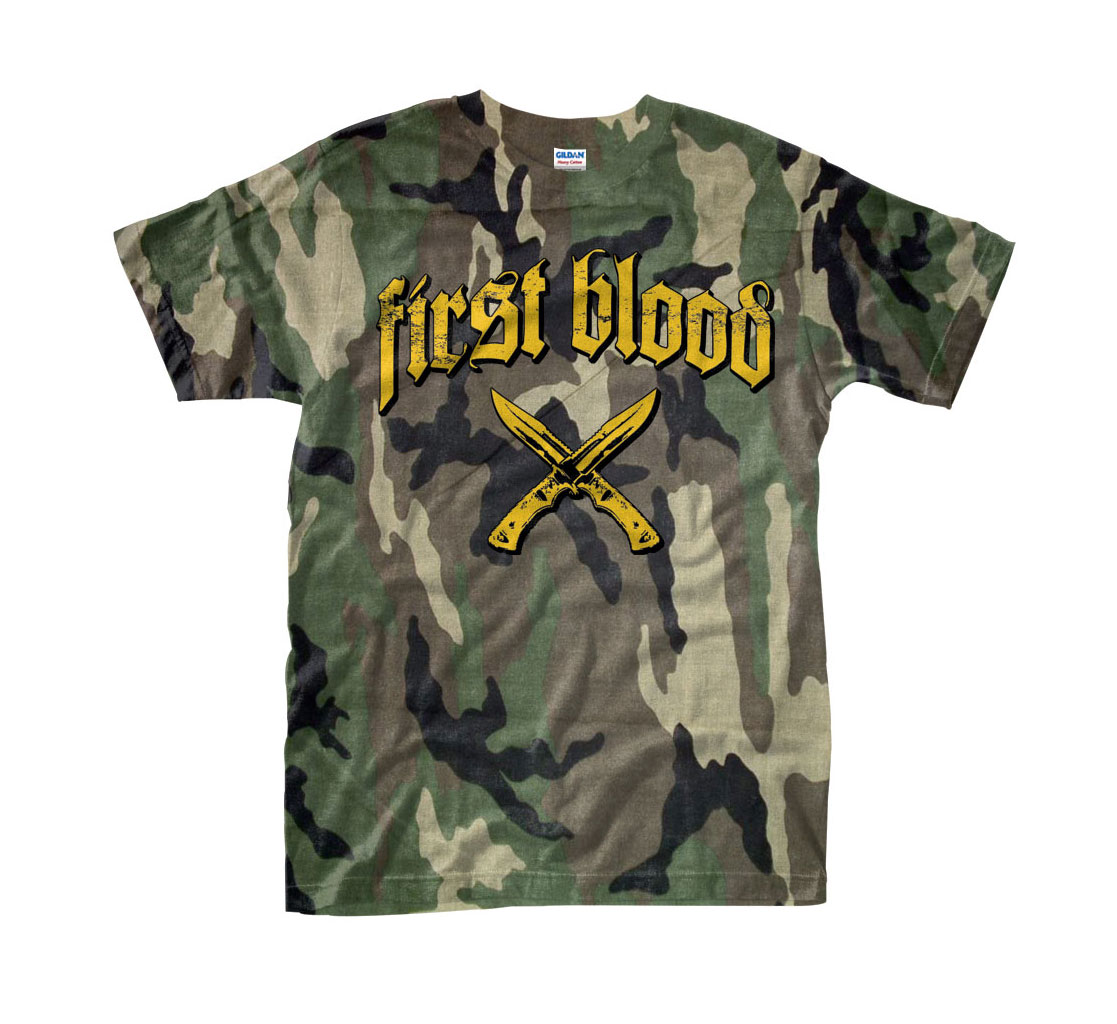 Don't Stop Fighting Camo T-Shirt / 10€